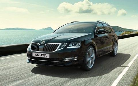 Škoda OCTAVIA COMBI bij Van Mossel Voorraad