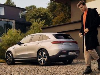 Mercedes-Benz EQC EQC 400 4MATIC Business Solution Luxury/ GRATIS LAADPAAL! bij Van Mossel Voorraad