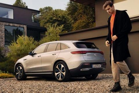 Mercedes-Benz EQC bij Van Mossel Voorraad