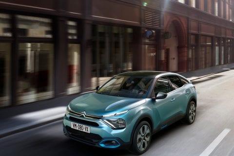 Citroën Ë-C4 bij Van Mossel Voorraad