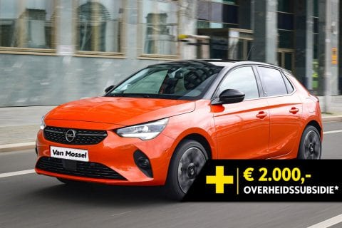 Opel Corsa-e bij Van Mossel Voorraad