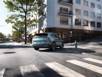 Škoda ENYAQ iV Elektromotor 180pk - 60 bij Van Mossel Voorraad